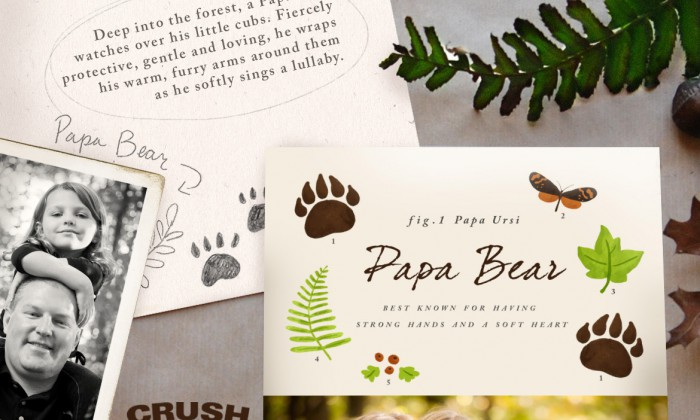 #crushcreative,#nss,#papa bear,#storytelling,#crushproducts